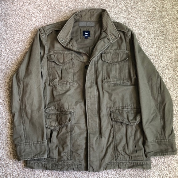 GAP Factory Other - 2/40! Gap Utility Military Field Jacket Size M